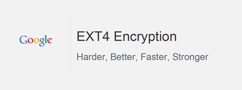 ext4 cifrado gracias a Google