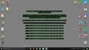 ransomware texto
