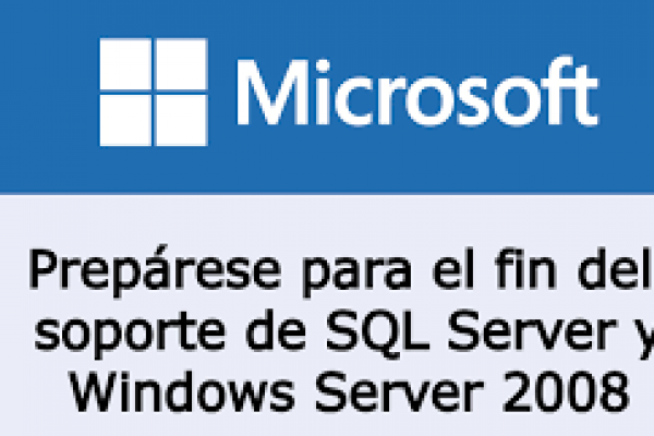 Fin de soporte windows 2008